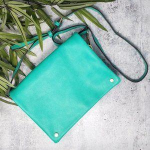 Street Level | Demi Fold Over Vegan Leather Bag